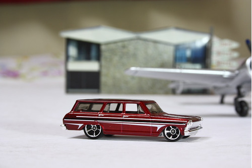 64 chevy nova station wagon hot wheels 2013 *