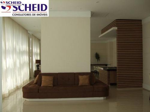 64 metros, 2 dormitórios, 1 suíte, 1 vaga, área de laser completa, contra piso excelente localização - mc1622
