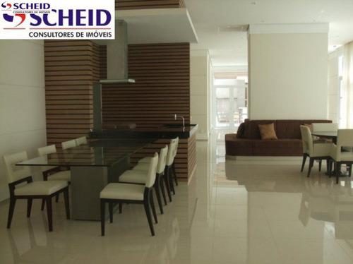 64 metros, 2 dormitórios, 1 suíte, 1 vaga, área de laser, contra piso, excelente localização - mc1636