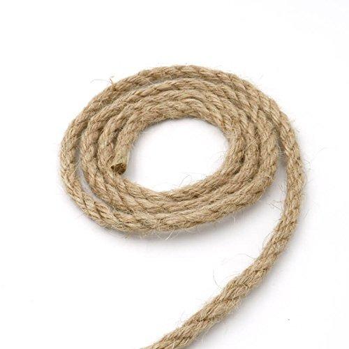 64 pies de yute guita cuerdas de camo cuerda fuerte craft - Cuerda De Caamo
