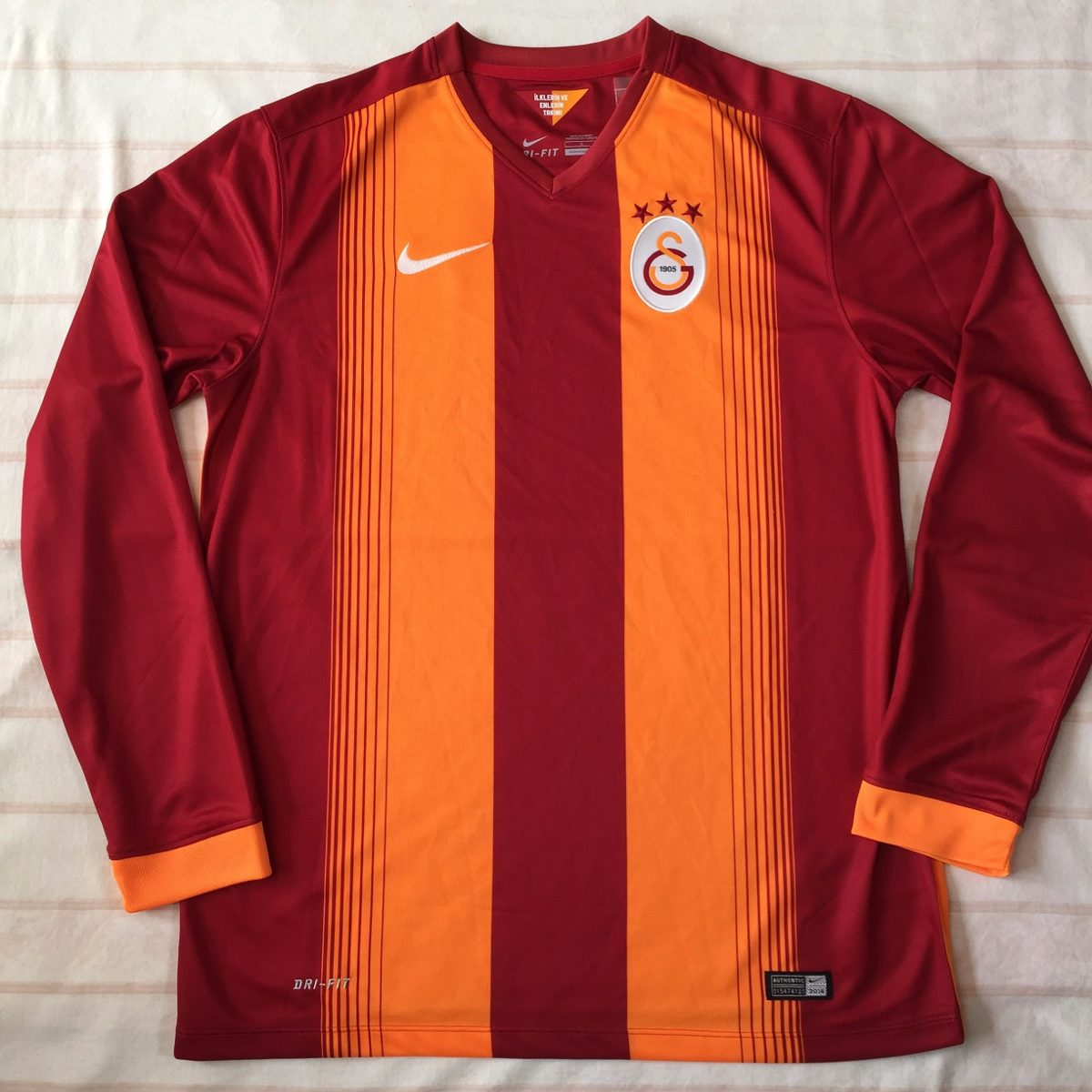 9d639949ca 647855-606 Camisa Nike Galatasaray Home 14 15 G Ml Fn1608 - R  1.499 ...