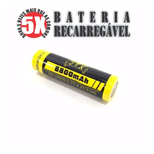 65 - baterias li-ion 18650 8800mah 3.7v / 4.2 v recarregavél