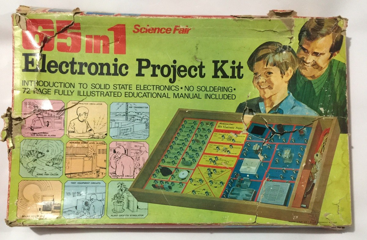 65 En 1 Electronic Project Kit Tandy Corp 70s Retromex V 84900 Fish Caller Electronics Circuit Cargando Zoom