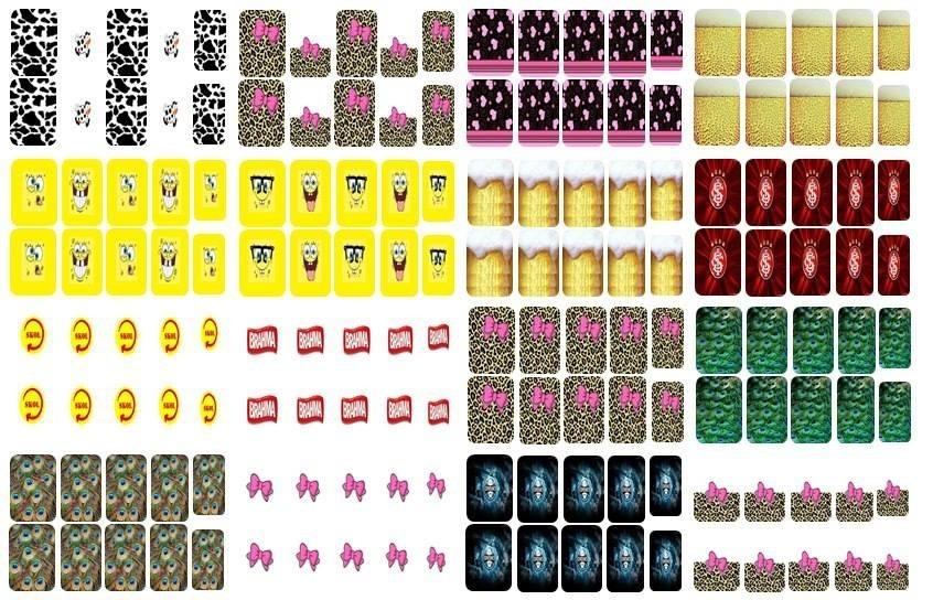 65 folhas prontas p pelculas de unha s imprimir r 500 em carregando zoom altavistaventures Gallery