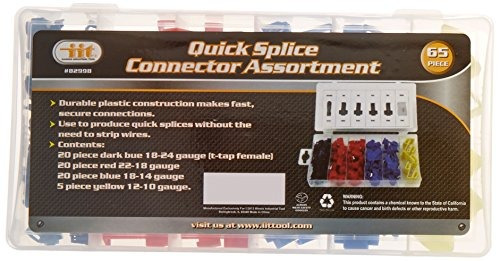 65 piezas de empalme rápido conector surtido
