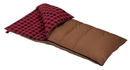 6,5-pounds wenzel grande saco de dormir rectangular (brown