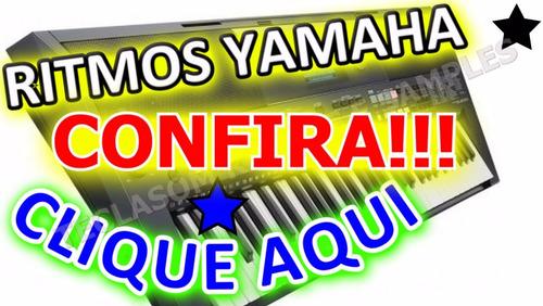 66 ritmos yamaha profissionais top de linha confiram !!!!!