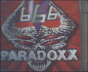 666 paradoxx cd original