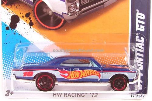 67 pontiac gto - hot wheels racing 2012