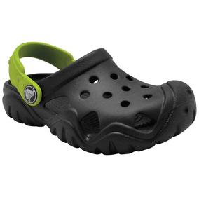 Niño Para Originales Verde Crocs Zapatos Color 11 Militar 29EHYWDI