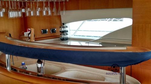 680 full 2012 c/ 2 man 1200hp intermarine azimut ferretti