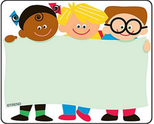 68003 niños 36 etiquetas autoadheribles multi usos de trend