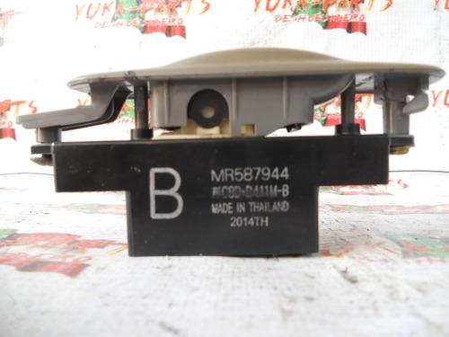 6834-16 control elevador cristal trasero mitsubishi lancer