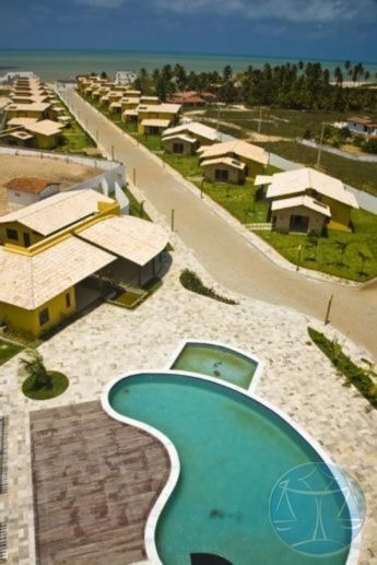 (6887) casa em condominio na praia de jacuma - v-6887