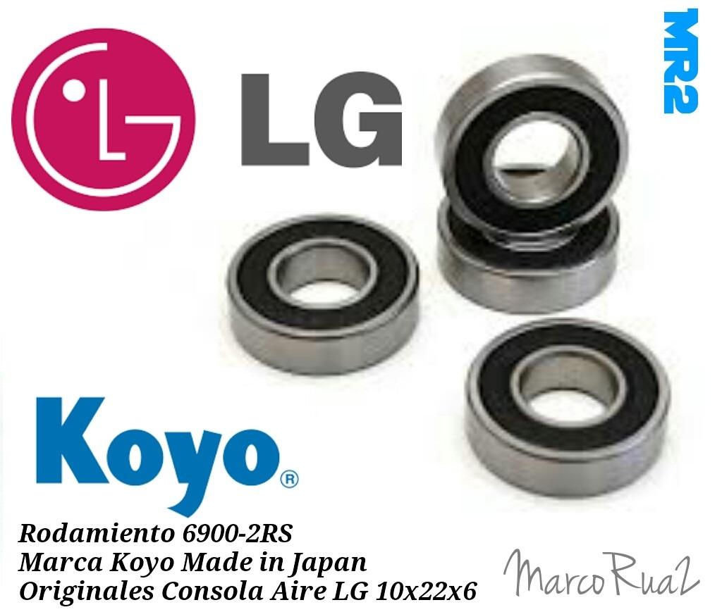 KOYO Rodamiento 6900 2RS tamaño 10mm X 22mm X 6mm