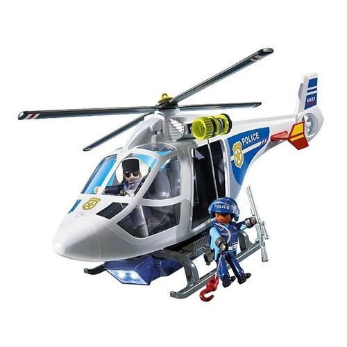 6921 playmobil cidade helic ptero de pol cia r 249 99 for Helicoptero playmobil