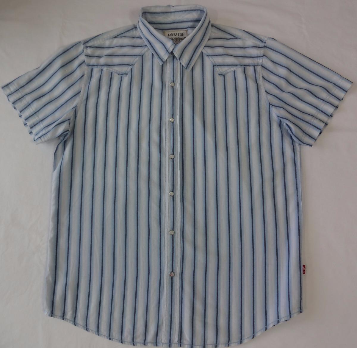 9e926fdc30 696 - Camisa Levi's Manga Curta - Tamanho G - R$ 120,00 em Mercado Livre