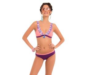 312346bbe3 Bikini Traje De Baño Mujer Talla Mediana Playa Lencería - Ropa ...