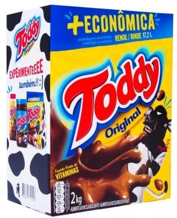 6kg toddy achocolatado em pó original