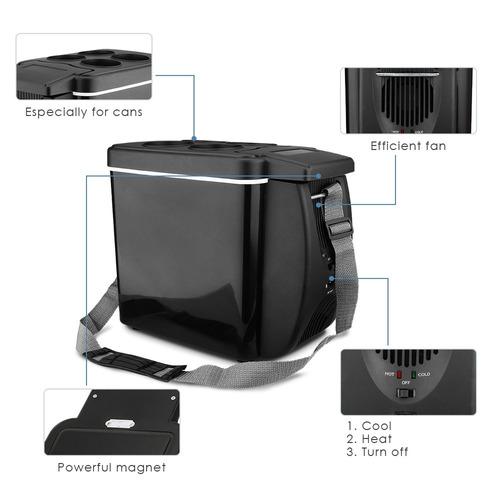 6l  calentador eléctrico refrigerador congelador del coche