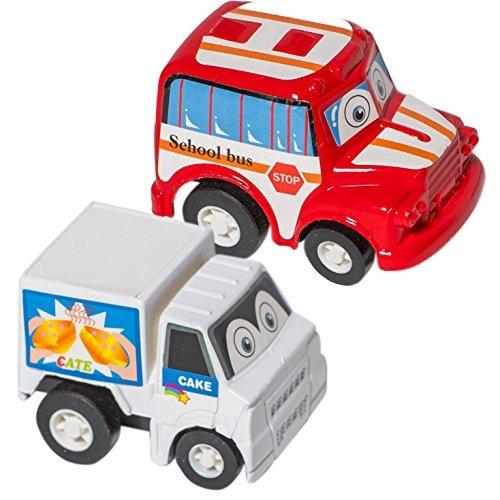 6pack Juguete Cartoon Carros Vehiculos Construccion Dibujos