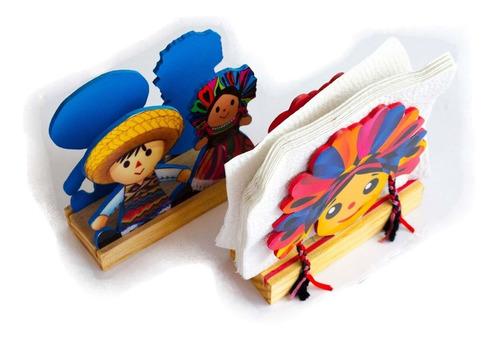 6pz servilletero artesanal mexicano evento boda mexicana