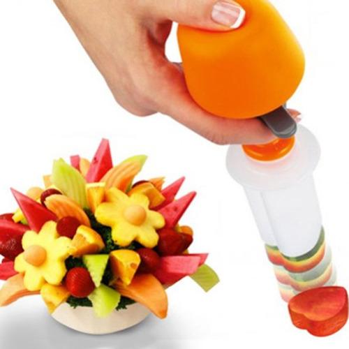 6set fruta forma vegetariana comida decoración hogar fruta