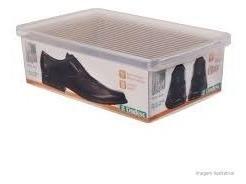6un - caixa organizadora sapato grande