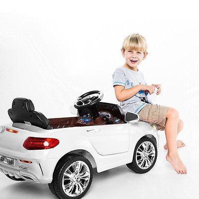 6v niños paseo en coche rc remote control batería accionado
