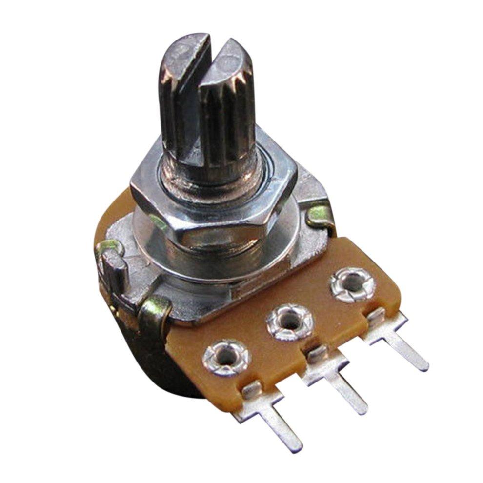 /12/V 2X Drehpotentiometer Potenci/ómetro Giratorio regulador Giratorio 5/