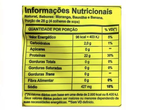 6x albumina 500g naturovos - envio 1 dia útil após aprovação