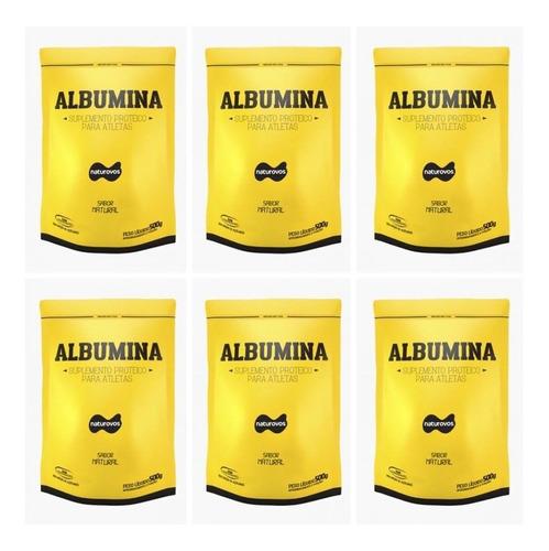 6x albumina 500g total 3kgs naturovos (vali 02/2021) natural