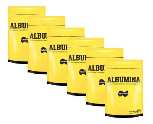 6x albumina refil 500g (total 3kgs) naturovos