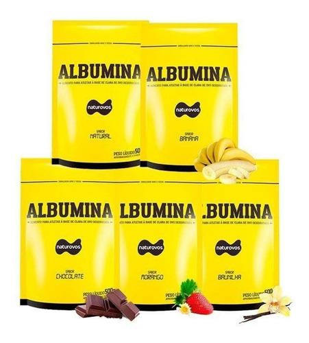 6x albuminas naturovos - somente chocolate v.11/2019