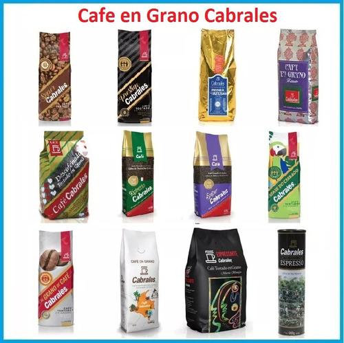 6x cafe molido cabrales happy day 250gr 1,5kg sin tacc