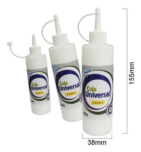 6x cola tudo universal 100gr arte artesanato *frete+barato*