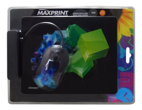 6x mouse + mouse pad apenas r$ 48,00  - caixa com 6 iguais