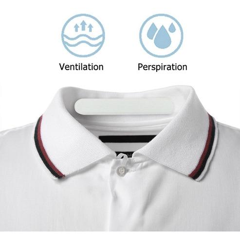 6x pad sudor desechable unisex cuello camisa absorbe
