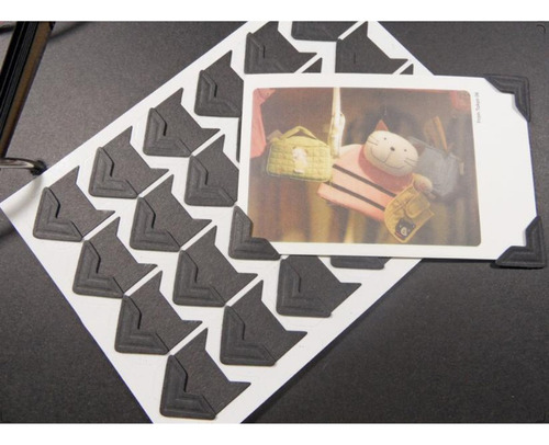 6x pegatina montaje de foto adhesivo esquina álbumes de