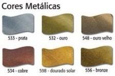 6x tinta aerografo esmalte vitral metalicas dourado solar