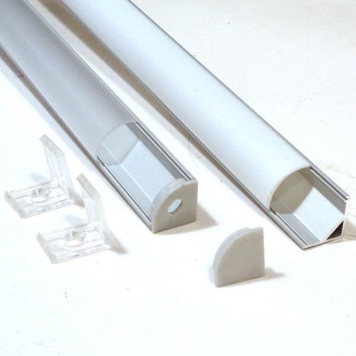 6x1mt perfil aluminio th-1002 cinta led 'esquinero simple'