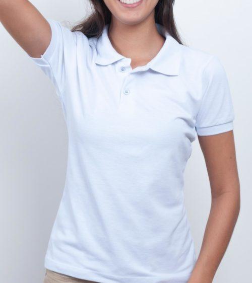 9f83279404 7 Blusas Feminina Camisas Polo Uniforme Roupa Para Trabalho - R  98 ...