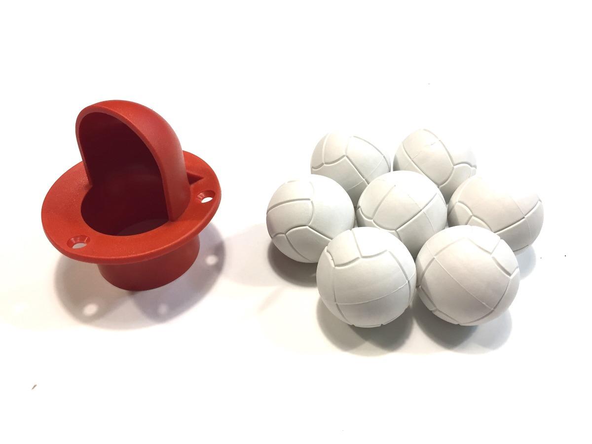7 bolas de pebolim totó pesadas e cachimbo pebolim. Carregando zoom. 17290ccf74ca7