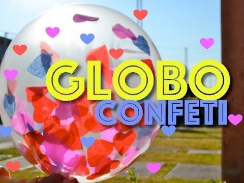 7 Bolsitas Confetti Gigante P Globo Digerentes Formas Papel