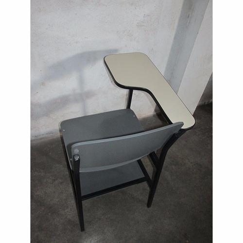 7 cadeiras universitárias carteira escolar super resistente