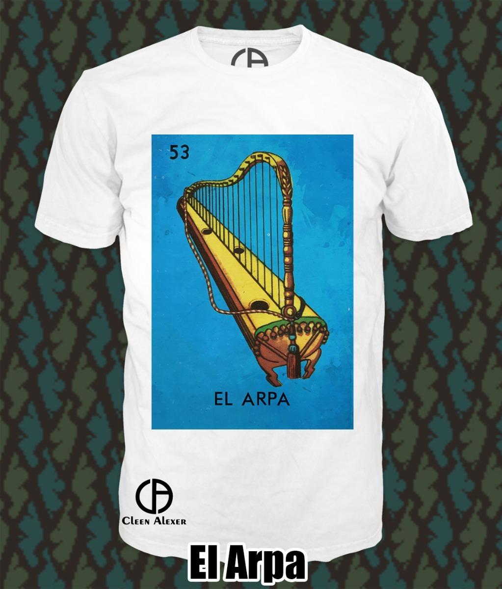 7 Camisetas Loteria Mexicana -   890.00 en Mercado Libre d8d692f54a2b9