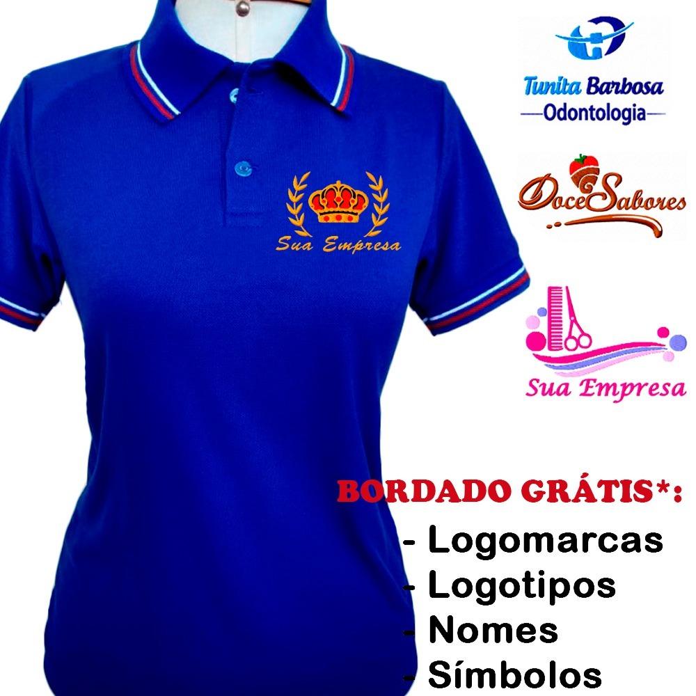 80be5da817973 7 camisetas personalizadas com sua logomarca bordada. Carregando zoom.