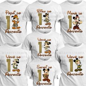 c4cb9ae9a6 Aniversario Camiseta Safari Menino - Camisetas Manga Curta para ...