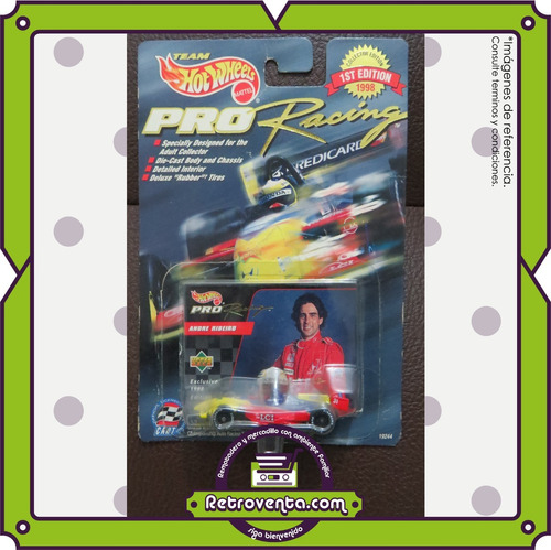 7 carros hot wheels f1 pro racing - collector edition 1998