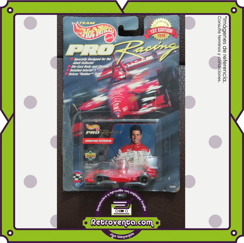 7 carros hot wheels f1 pro racing - collector edition 1998